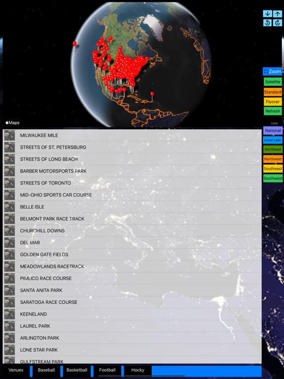 Sport Stadiums Pro - 3D Cities screenshot 15