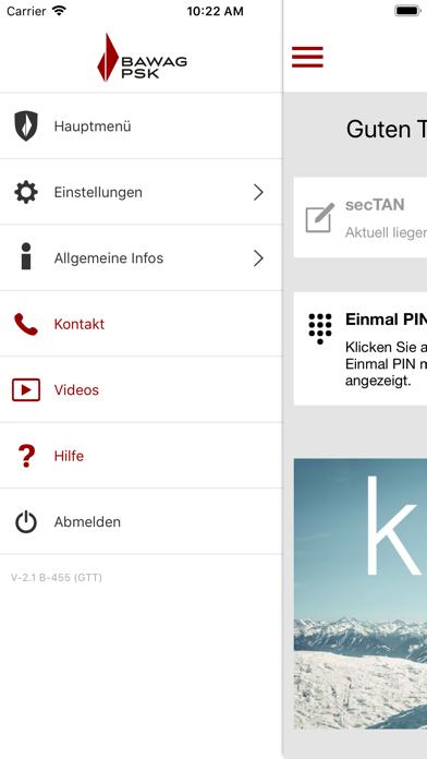BAWAG P.S.K. Security App screenshot three