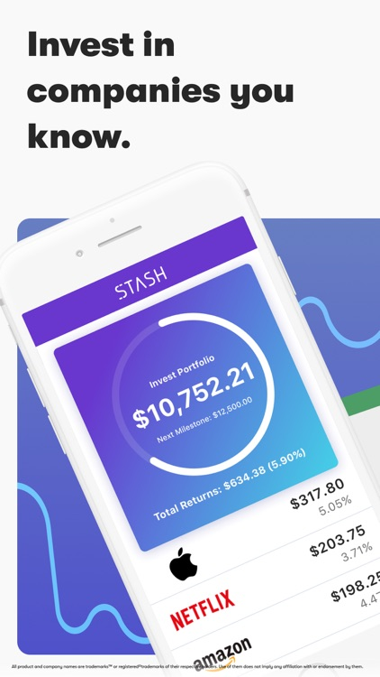Stash: Invest. Learn. Save. screenshot-0