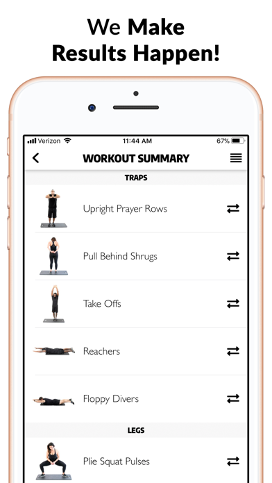 Exerprise - Workout Generator screenshot four