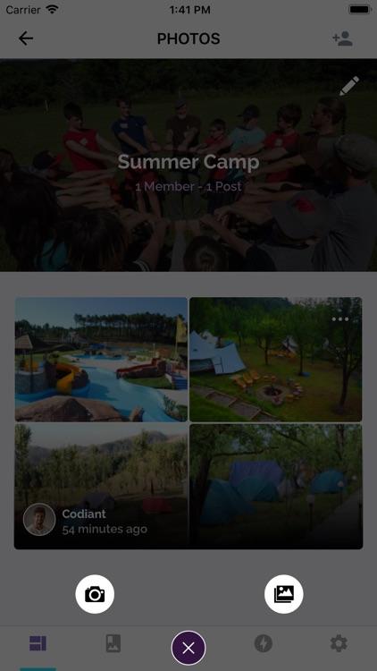 Photo Share App screenshot-4