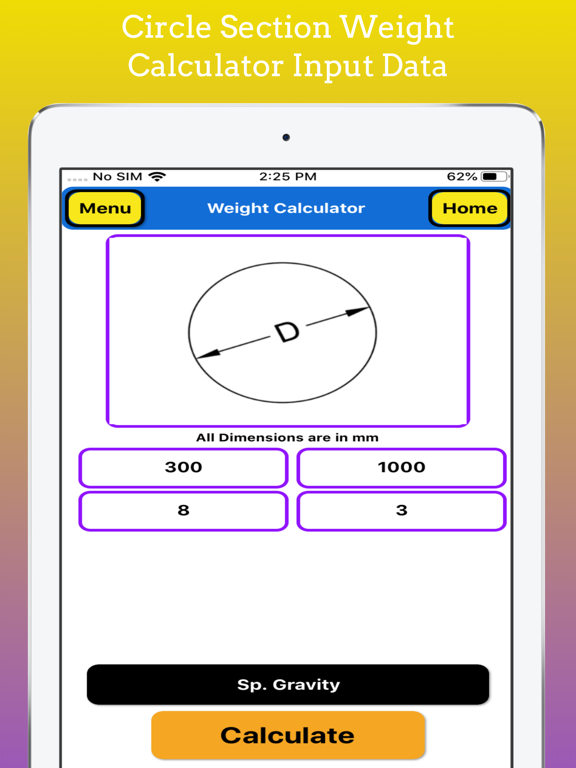 Fabrication Weight Calc Pro screenshot 12