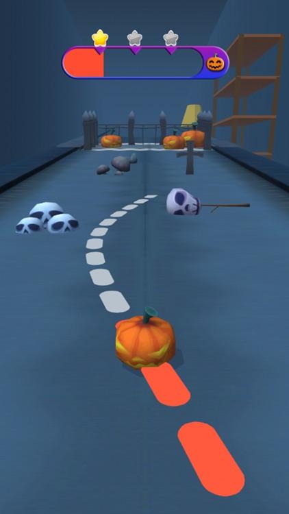 Halloween Run :3D Running Game screenshot-3