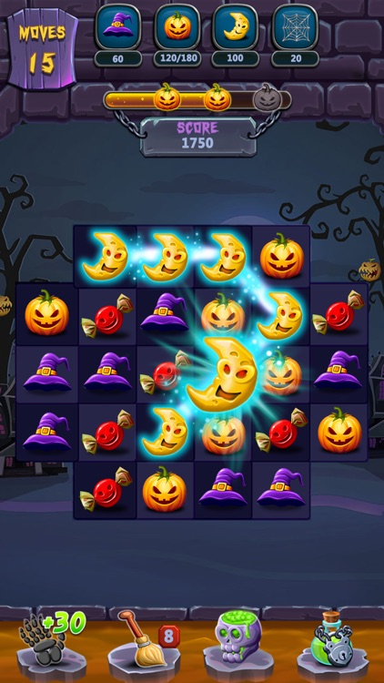 Halloween Witch Connect screenshot-7