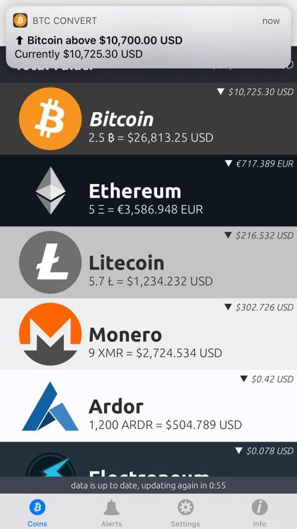 Bitcoin Convert screenshot-5
