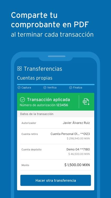 BancaNet Empresarial Móvil screenshot-4