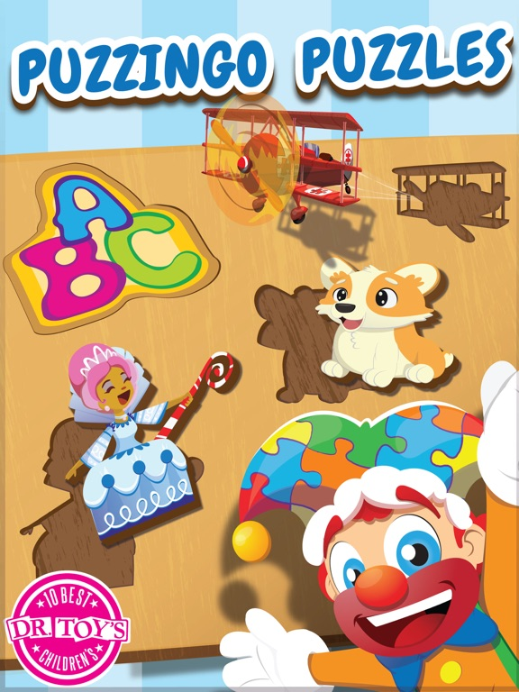 Puzzingo Toddler Kids Puzzles-ipad-0