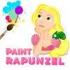 长发公主涂色 - 绘画涂手简书涂鸦画板软件