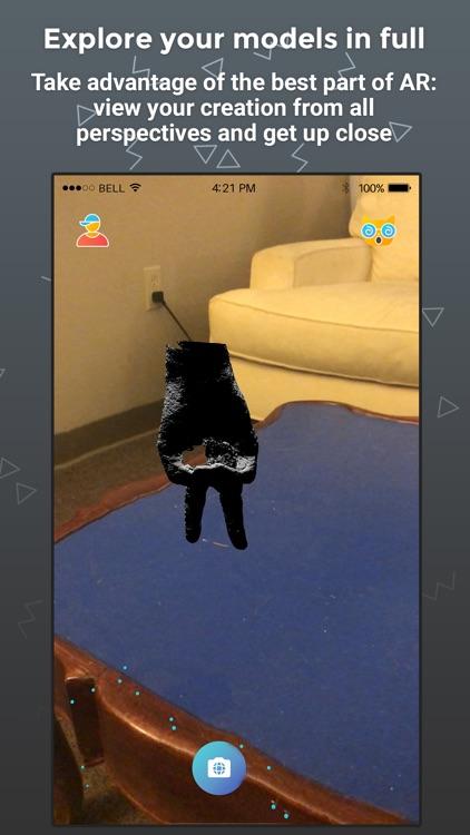 Cappy AR 3D Scanner screenshot-3