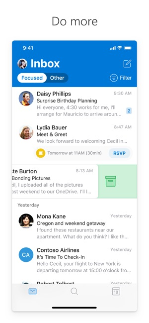 427735a72 Microsoft Outlook on the App Store
