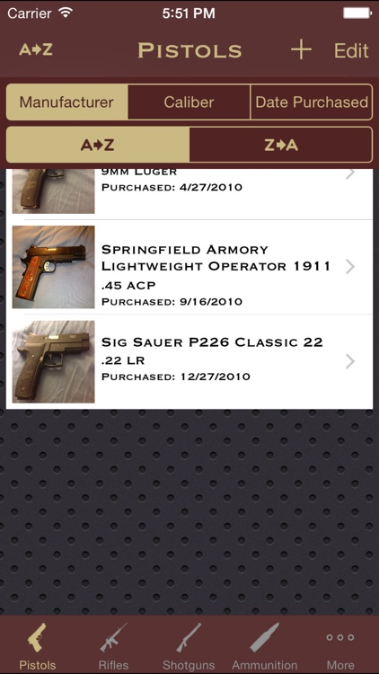 FirearmSafe screenshot-1