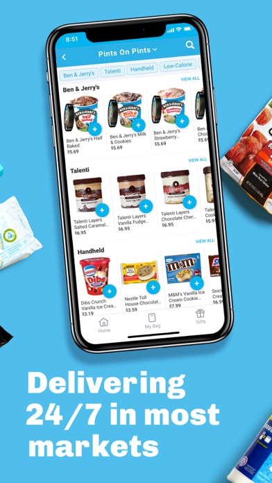 goPuff: Drink & Food Delivery