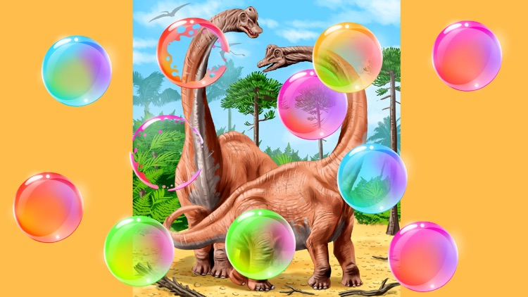 Kids puzzle games: Dinosaurs screenshot-1