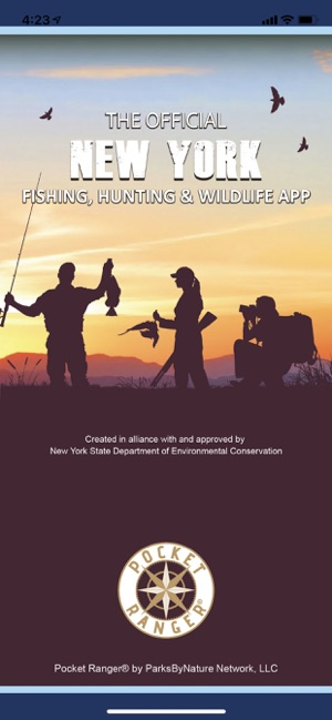 New York Fish and Wildlife App on the App Store  Z New York State Hunting Zone Map on