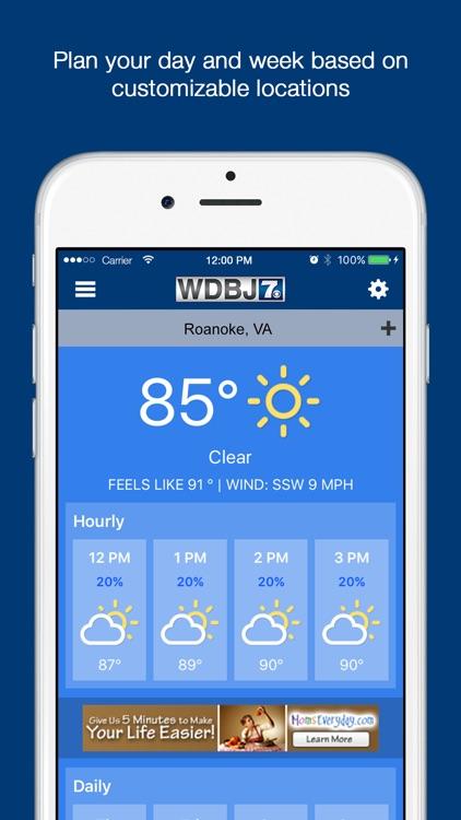 WDBJ7 News screenshot-3