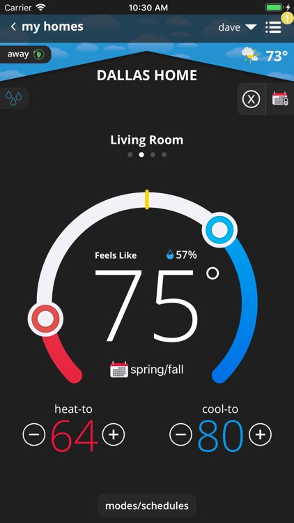 iComfort Thermostat screenshot-3