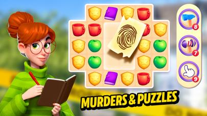 Small Town Murders: Match 3 Screenshot