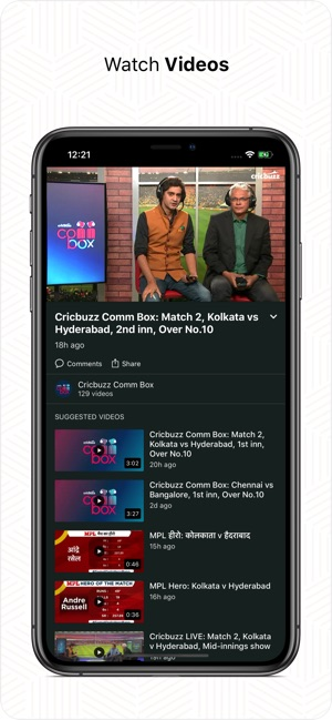 Cricbuzz Cricket Scores & News on the App Store