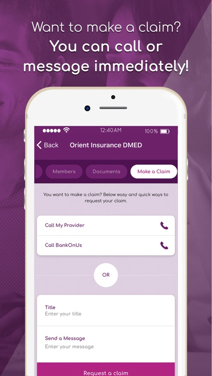 BankOnUs: Insurance & Banking screenshot-5