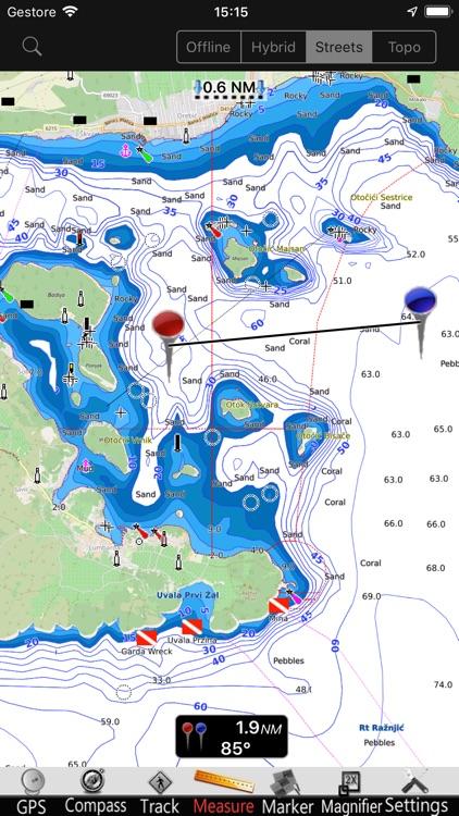 Croatia GPS Nautical Chart Pro