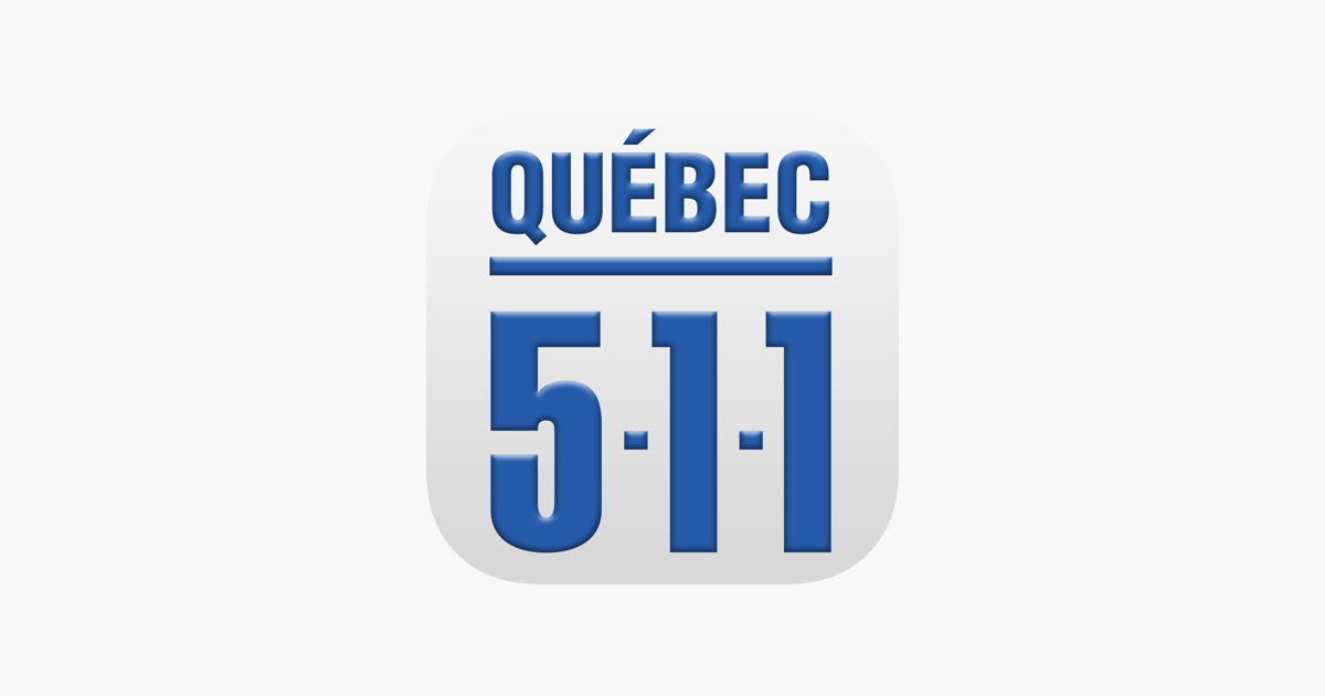 Condition Routiere Quebec >> Quebec 511 On The App Store