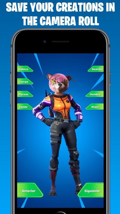 Skins Maker for Fortnite App screenshot-3