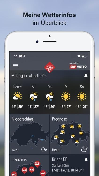 Wettervorhersagen Schweiz