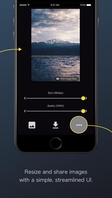 ReSIZER - Simple Photo Resizer screenshot two