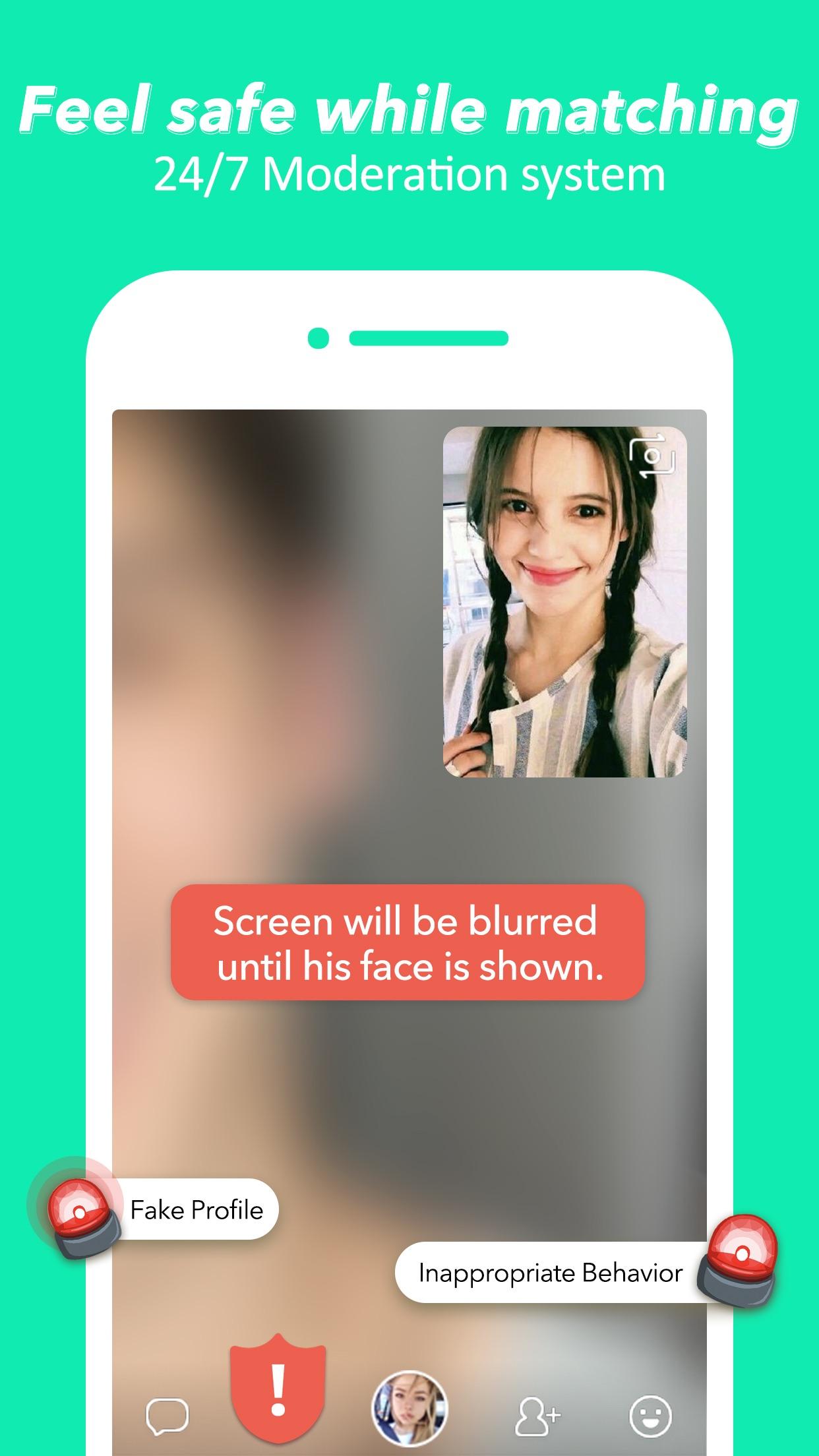 HOLLA: live random video chat Screenshot