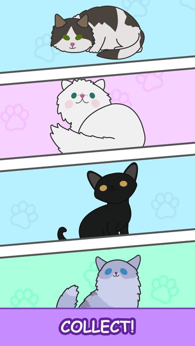 Cats Tower - Merge Kittens 2 screenshot three