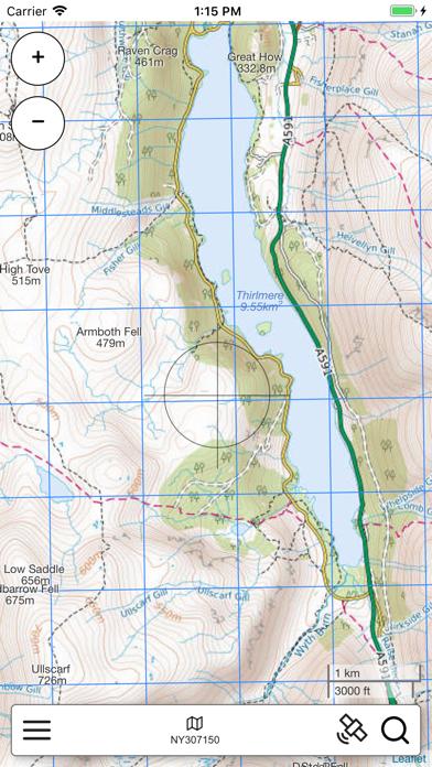 Lake District Outdoor Map PRO screenshot 2