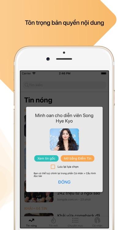 ĐIỂM TIN - Đọc tin thông minh screenshot-5