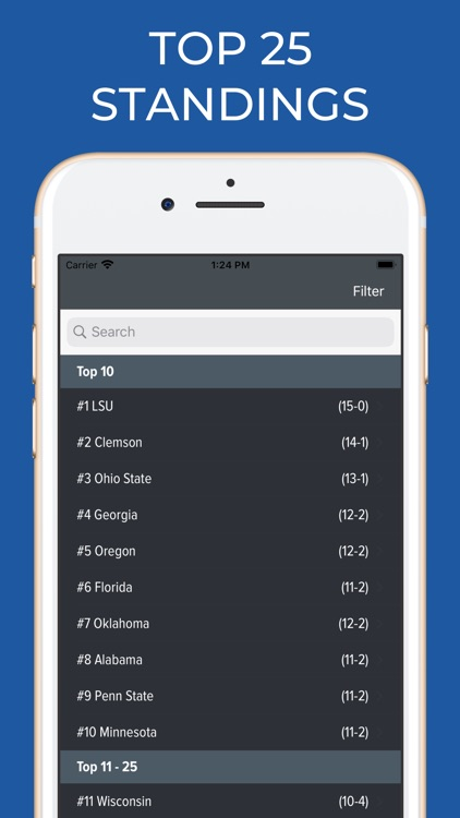 Arkansas Football Schedules screenshot-5