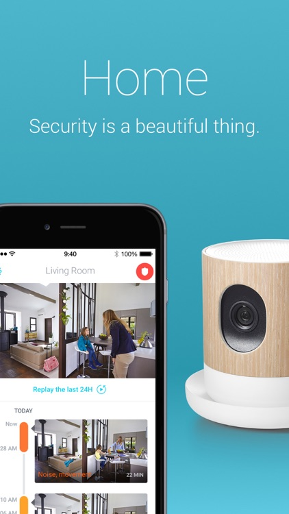Withings Home Security Camera