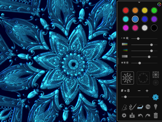 ‎iOrnament: draw mandala & art Screenshot