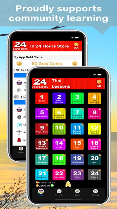 In 24 Hours Learn Thai screenshot one