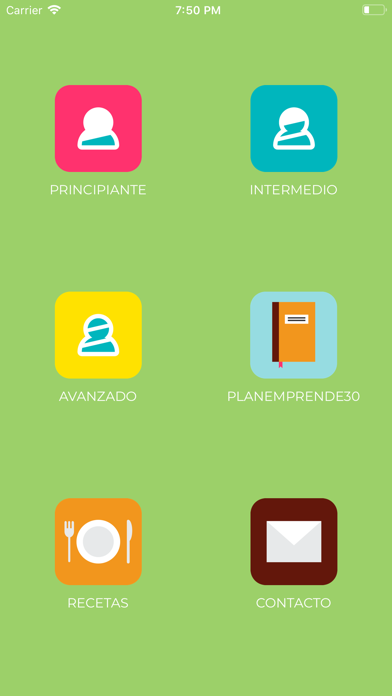 Screenshot for EmprendeFit in United States App Store