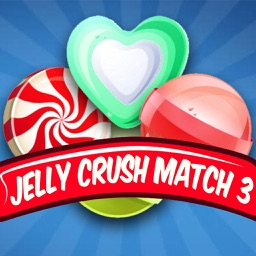Jelly Crush Match 3 Puzzle