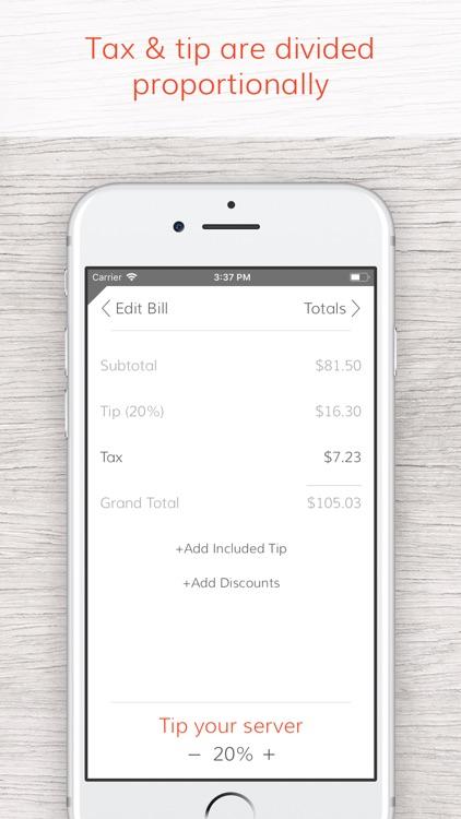 Tab - The simple bill splitter screenshot-4