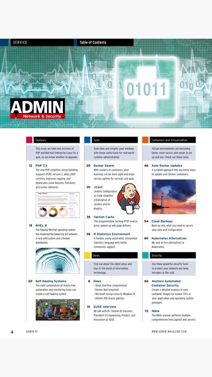 ADMIN Magazine screenshot-2