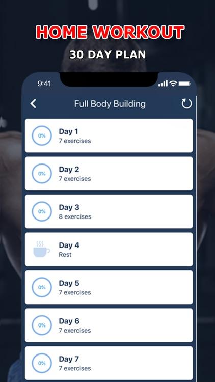 Home Fitness Workout Pro screenshot-5
