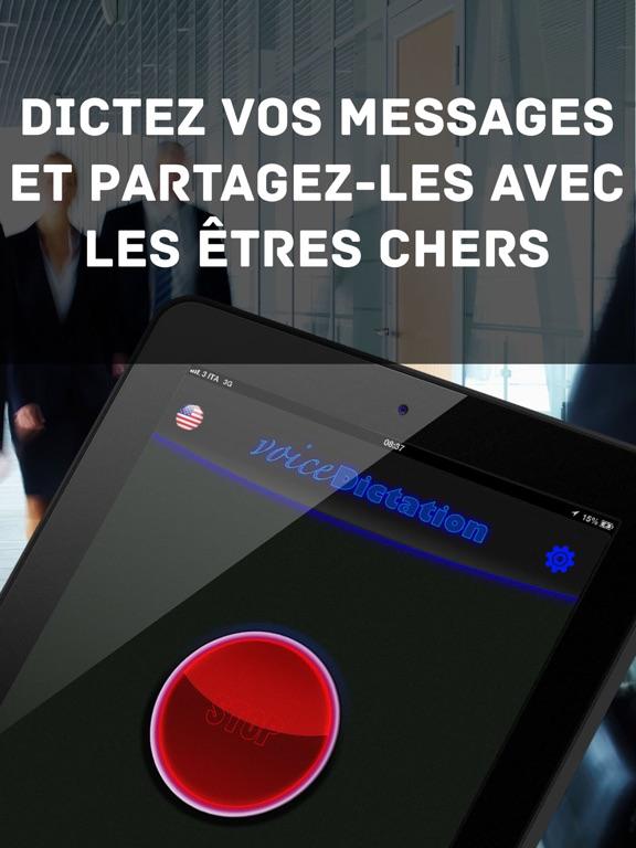 Screenshot #5 pour Dictée Vocale !