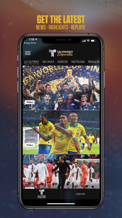 Telemundo Deportes: En Vivo screenshot-0
