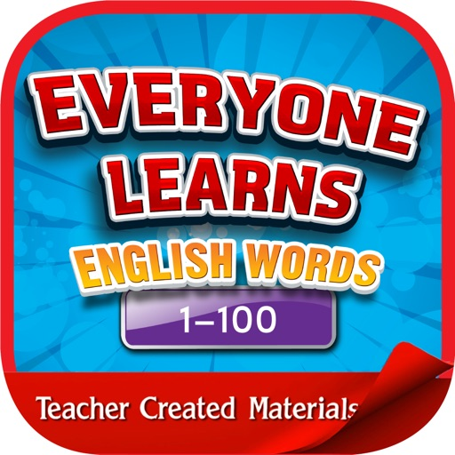 English Words 1-100