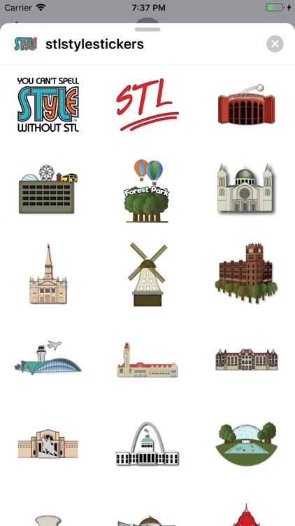 STL-Style Sticker Pack