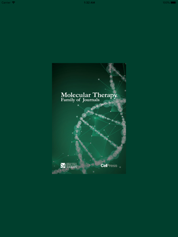 Molecular Therapy Journals - náhled
