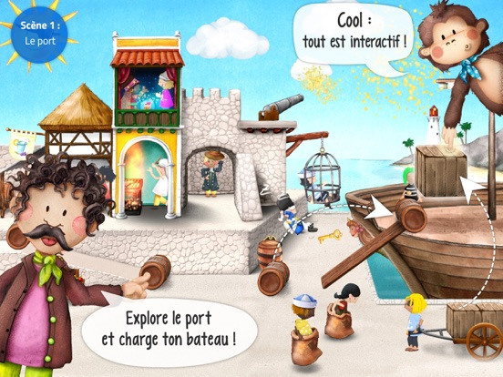 Screenshot #5 pour Mini Pirates