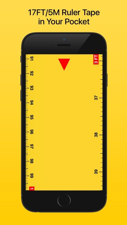 Ruler Tape 17: Measure