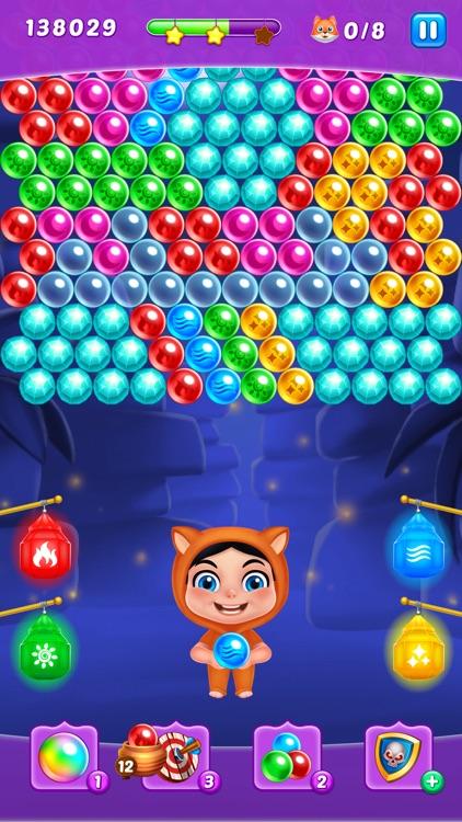 Bubble Puzzle Fox Rescue screenshot-4