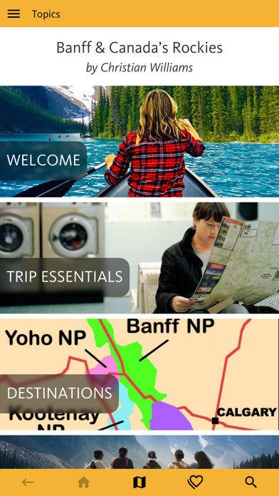 Banff & Canada's Rockies Guide screenshot 1